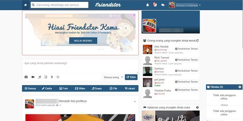 Photo of Jaringan Sosial 'Friendster' Kembali Dan Anda Boleh Kembali Bersahabat Dengan Kawan Lama?