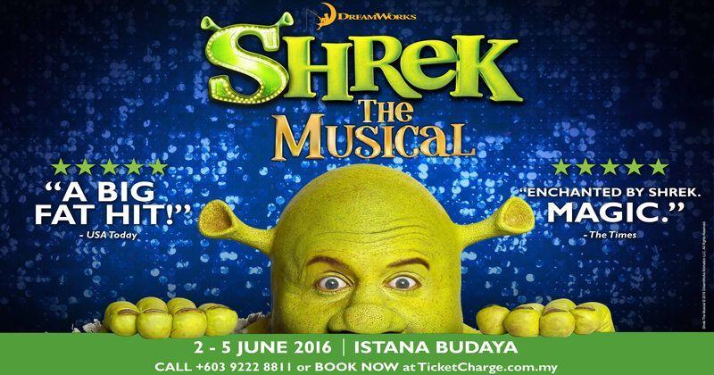 Photo of Jangan terlepas muzikal 'Shrek' di KL