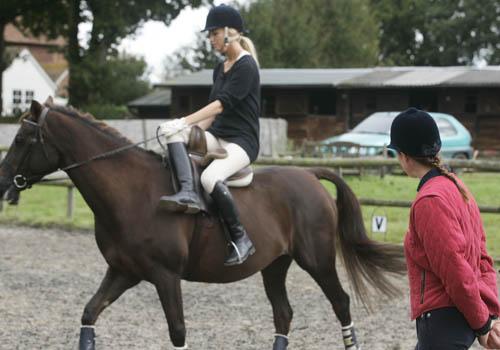 Side-saddle-lesson
