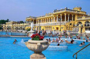 Hungary Szechenyi Bath