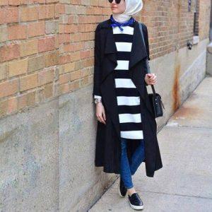 striped-shirt-dress-hijab-look