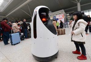 police-robot-patrols-at-zhengzhou-east-railway-station