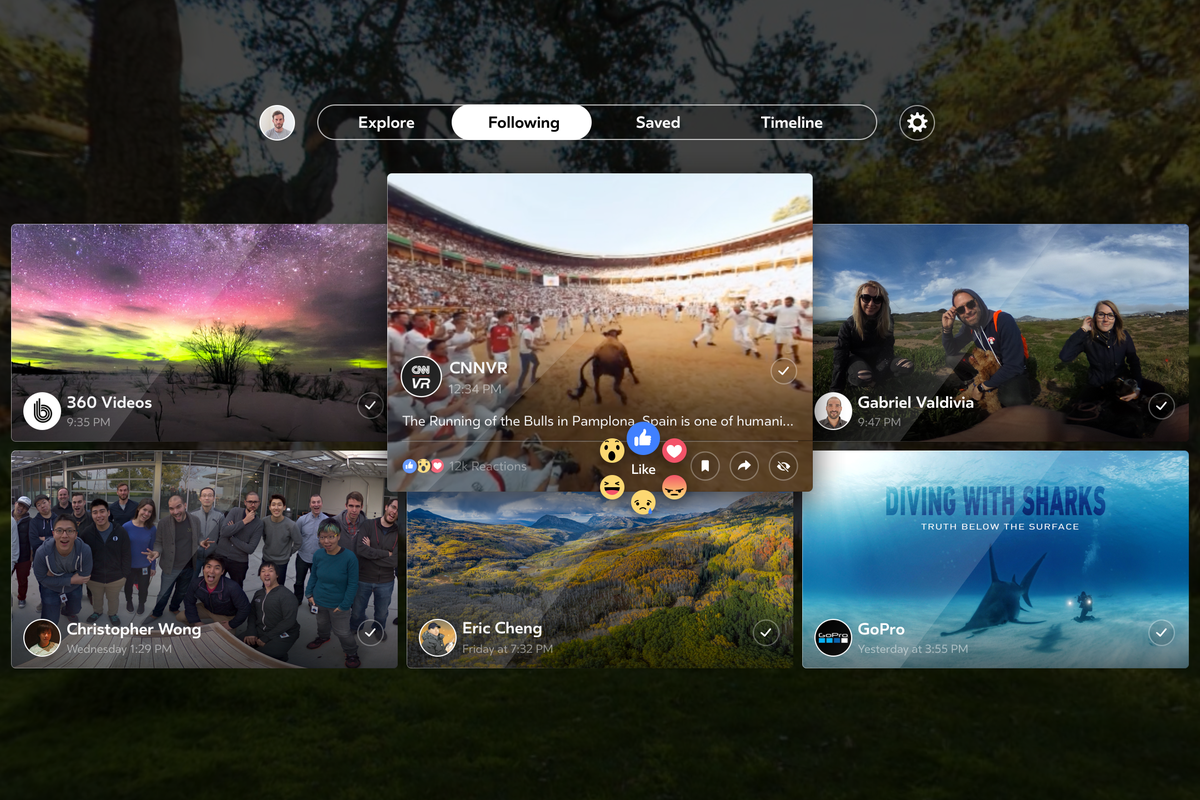 Photo of Facebook Have Their Own Video App On Samsung Gear VR