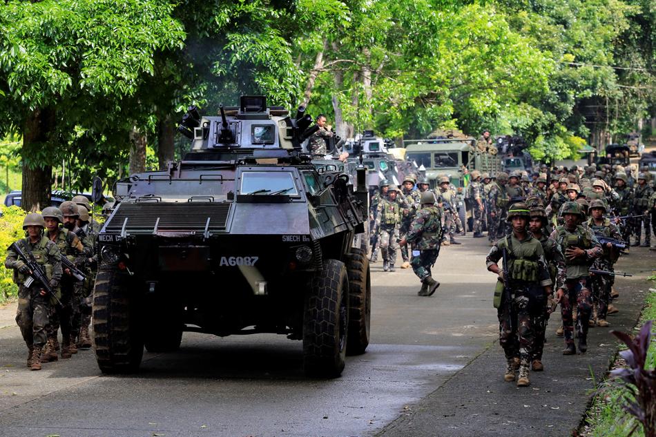 Tentera Filipina di Bandar Marawi