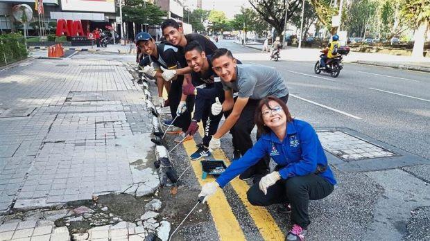 Photo of V4KL:  Sukarelawan Membersihkan Bandar KL