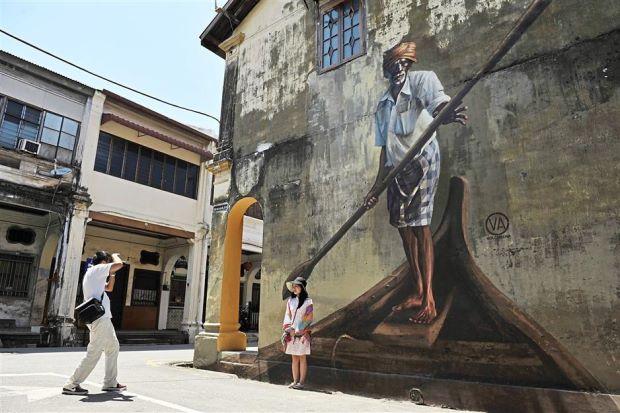 Photo of Seni Jalanan George Town Destinasi Pilihan Pelancong Antarabangsa