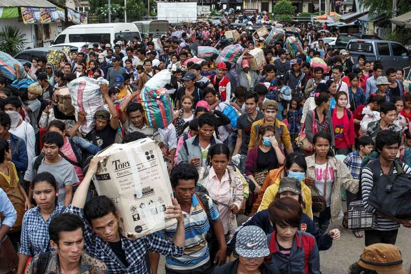 Photo of Ramai Pekerja Warga Asing Tinggalkan Thailand