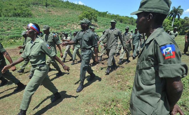 Photo of Haiti Wujudkan Semula Pasukan Tentera