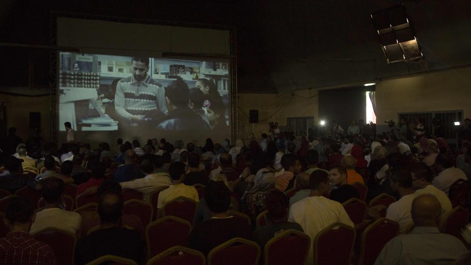 Photo of Gaza Cinema Reopens For One Night Only After 30 Years