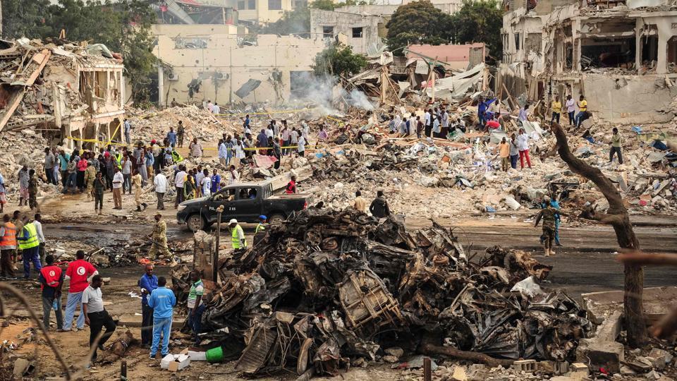 Photo of Serangan Bom Somalia Terburuk Sejak Tahun 2007