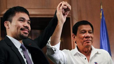 "Photo of Duterte ""Restu"" Manny Pacquiao Menjadi Presiden"