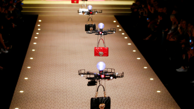 Photo of Drones Steal Limelight at Dolce & Gabbana Fashion Show