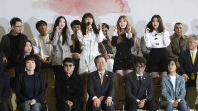 Photo of Delegasi Penyanyi K-Pop Korea Selatan ke Korea Utara