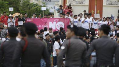 Photo of Rakyat Thailand Bantah Pemerintahan Tentera