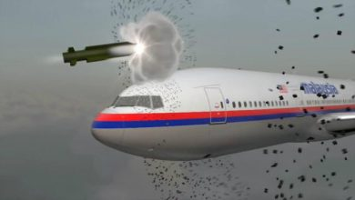 Photo of MH17 Shot Down by Russian Military Missile