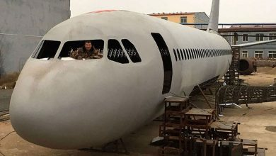 Photo of A Chinese farmer couldn't fly a plane, so he built one