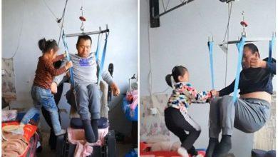 Photo of Walaupun Baru 6 Tahun, 'Malaikat Kecil' Ini Dah Pandai Jaga Bapa Yang Lumpuh