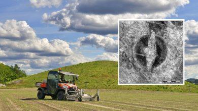 Photo of Ahli Arkeologi Temui Kapal Viking Ditanam 50 CM Bawah Tanah