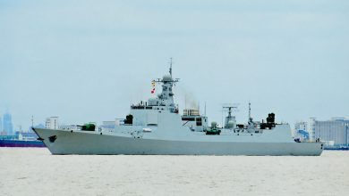 Photo of Good Morning! – Chinese warship to Japanese helicopter carrier in South China Sea