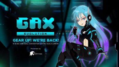 Photo of GAX Evolution 2018 Akan Berlangsung 15 & 16 Disember Ini!
