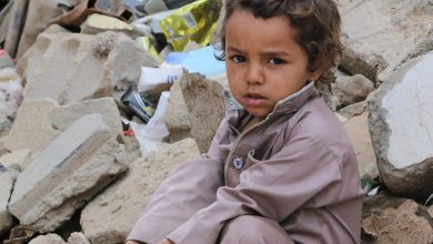 Photo of This is how it feels to raise a child in war-torn Yemen